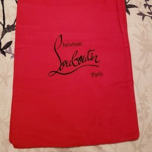 Christian Louboutin Protective Cover Duster Bag